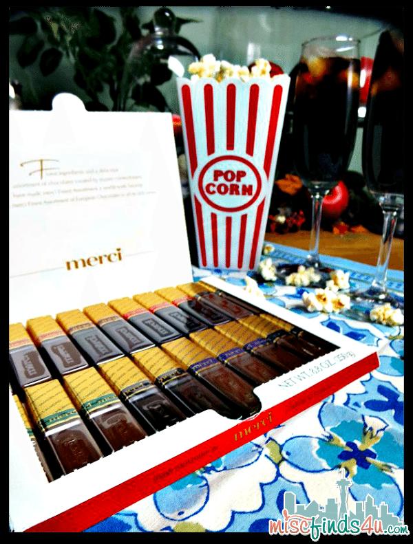 Movie Night with Merci Chocolates