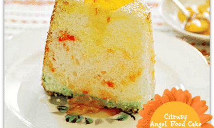 Cake Recipes: Citrusy Angel Food with Orange Marmalade