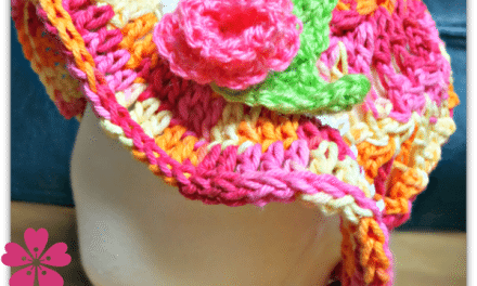 Crochet How To – Free Kids Sun Hat or Easter Bonnet Pattern