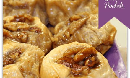 Recipes for Sweet Potatoes: Upside Down Sweet Potato Dessert Pockets