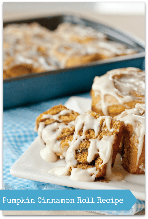 Healthy Pumpkin Cinnamon Roll Recipe