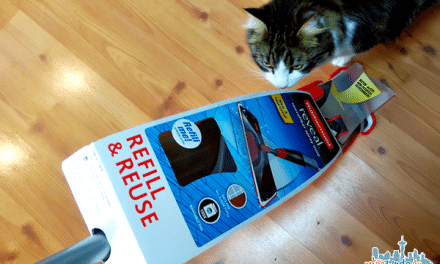 Ad: Rubbermaid Reveal Spray Mop Review