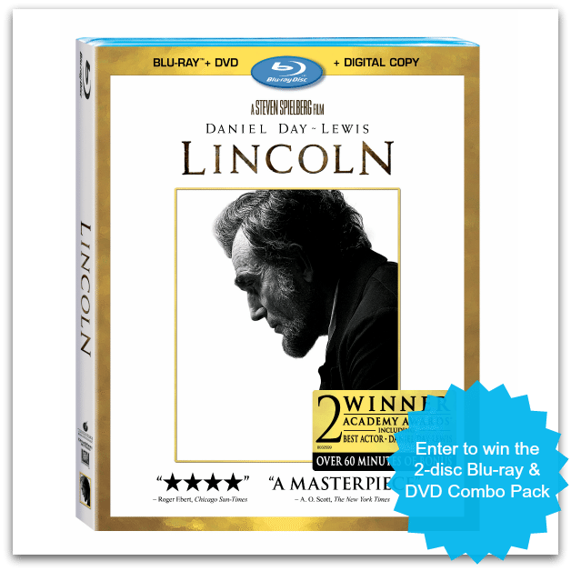 LINCOLN Blu-ray & DVD giveaway