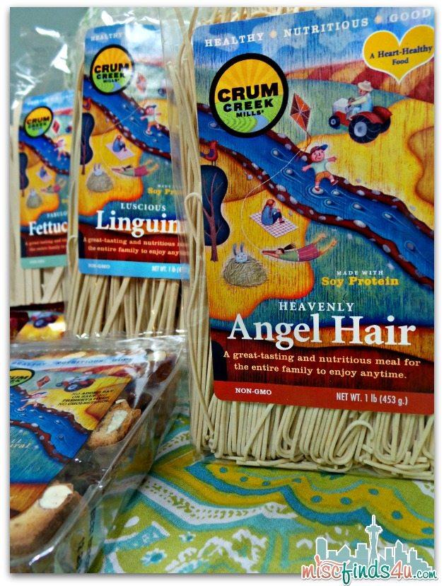 Crum Creek Mills Soy Pasta