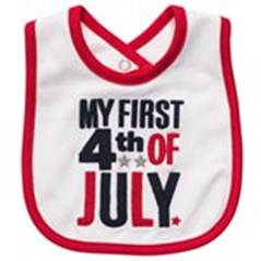 Carters My First 4th of July Bib - Baby