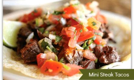 Steak Tacos with Spicy Pico De Gallo Recipe