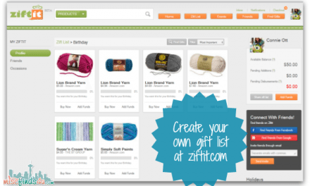 Ziftit – Gift Giving and Helping Those in Need in One Place #ZiftList Ad