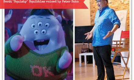 "Meet Peter Sohn: the Voice of Scott ""Squishy"" Squibbles #MonstersUEvent"