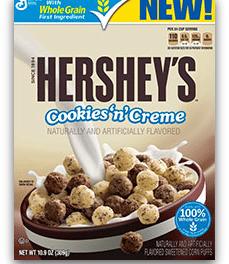 Hershey's Cookies 'n' Creme  Breakfast Cereal