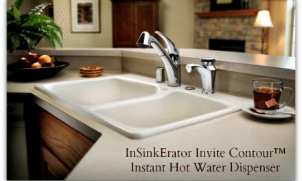 InSinkErator Invite Contour Instant Hot Water Dispenser