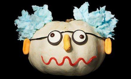 No-Mess Pumpkin Decorating With Food