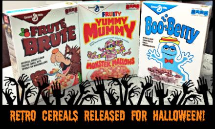 General Mills Monster Cereals