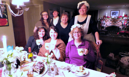 World Market Downton Abbey Tea Party @worldmarket #DotheDownton