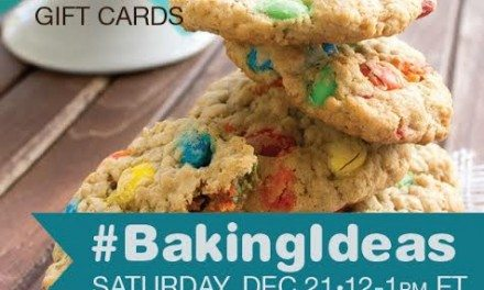 RSVP #BakingIdeas Twitter Party 12/21 12pm Prizes