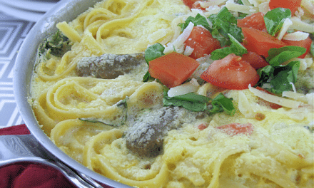 Pasta Tomato and Sausage Frittata Recipes