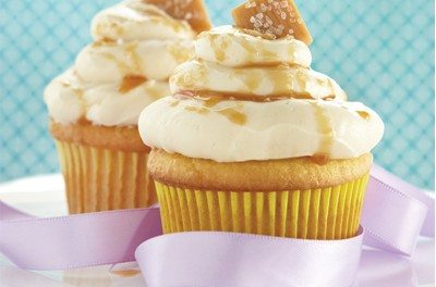 Easy Salted Caramel and Cinnamon Cupcake Recipe