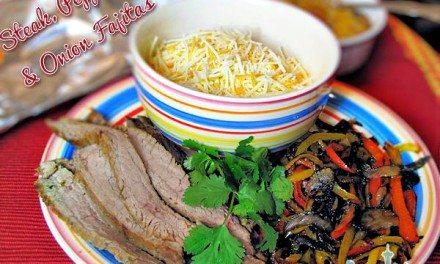 Mild Grilled Flank Steak Fajitas Recipe