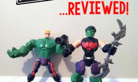 Fun with Marvel Super Hero Mashers