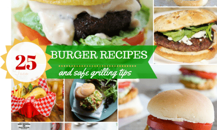 Burger Recipes – 25 Mouthwatering Choices and Safe Grilling Tips