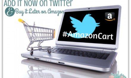 AmazonCart: Add It Now on Twitter, Buy it Later on Amazon