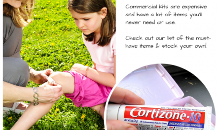 Summer First Aid Kit: Create Your Own These 9 Essential Items #MC #Cortizone10