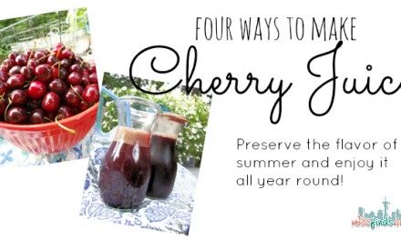 How to Make Cherry Juice – 4 Easy Methods to Choose From