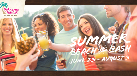 Bahama Breeze Summer Beach Bash Events #SummerBeachBash
