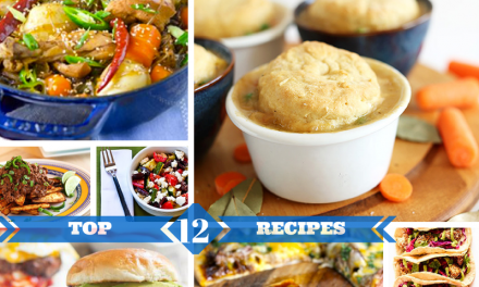 Top 12 Recipes of the Week via ZipList