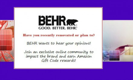 BEHR Advisor Group – Get Rewarded for Your DIY Opinions