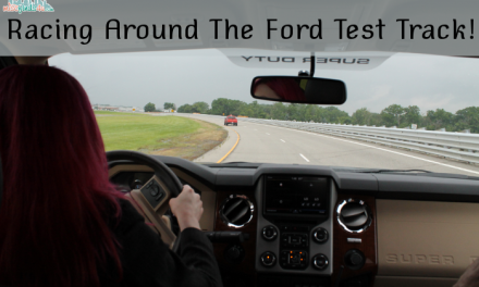 Racing Around The Ford Test Track #FurtherWithFord