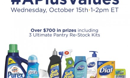 Twitter Party: RSVP #APlusValues 10/15 10 am PT