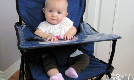 Ciao Baby Portable High Chair – Perfect for On-the-Go or Home
