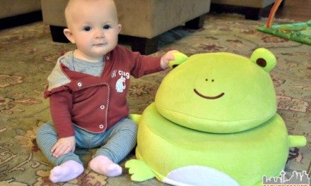 Frog Critter Cushion – Adorable Plush Chair for Kids