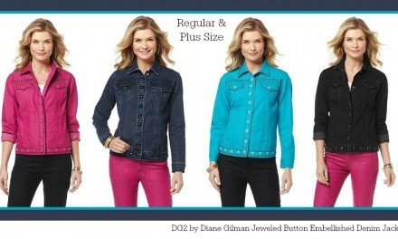 DG2 by Diane Gilman Embellished Denim Jacket – Add Some Sparkle to your Wardrobe