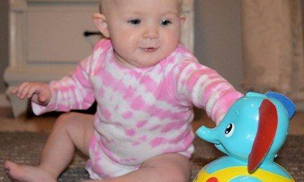 Toddler Toys: TOMY Tap 'N' Tumble Elephant