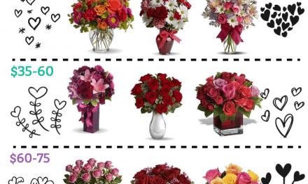 Valentine's Day Flowers – 10 Options Under $75