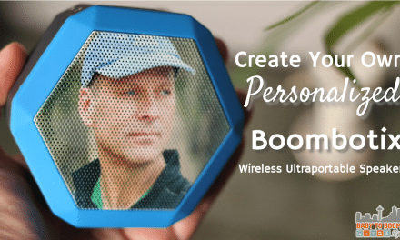 Create a Boombotix Boombot Rex Personalized Portable Wireless Speaker