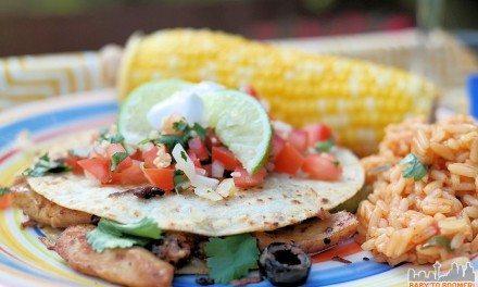 Foster Farms Chicken Fajita-Style Quesadillas Recipe