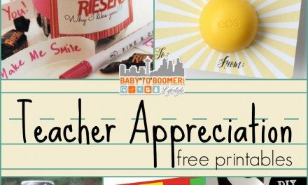 Teacher Appreciation Gift Ideas and Free Printables