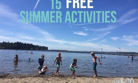 15 FREE Summer Activities To Do With Your Kids