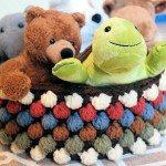 Free Bobble Storage Basket Crochet Pattern