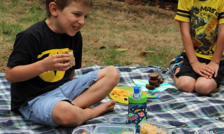 Back to School Lunch Ideas: LunchBlox #BloxOff