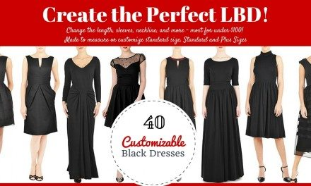 40 Little Black Dresses You Can Customize – Length, Sleeves, Neckline