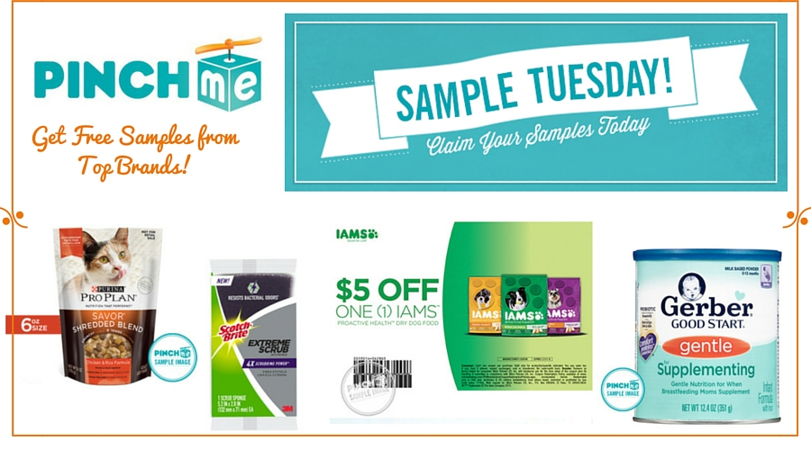 PINCHme Get Free Samples from Top Brands - PINCHme: Free Product Samples Every Tuesday #GIVEAWAY #sampletuesday #IC @pinchme #ad