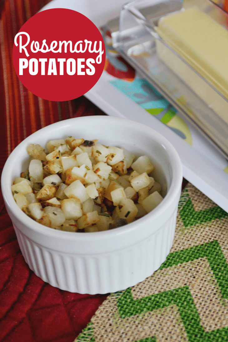 Thanksgiving side dish: Rosemary Potatoes