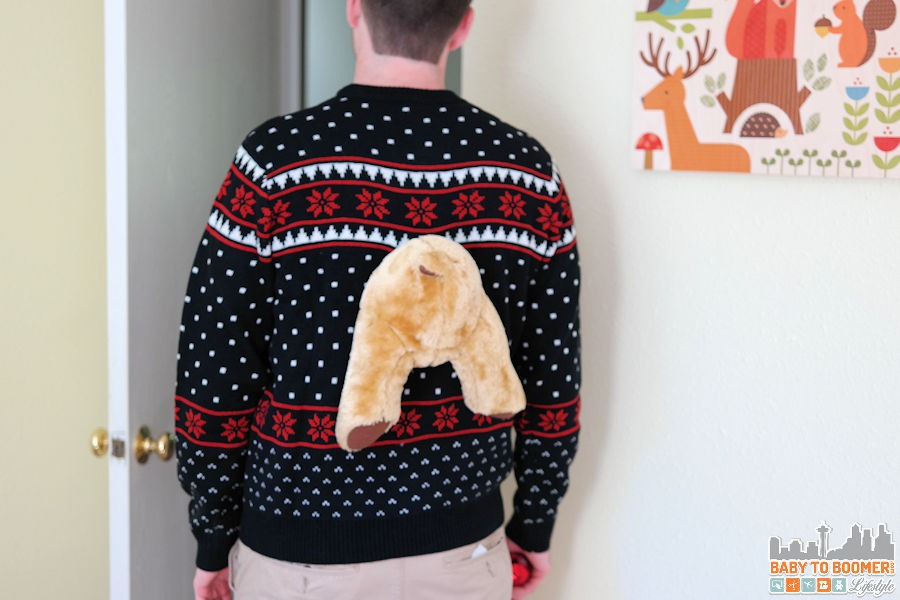 3D Ugly Christmas Sweater: A Perfect Fit #UglyChristmasSweater @uglyxsweater