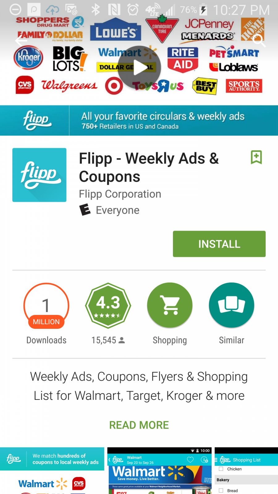 Printing Coupons - Flipp App - circulars online with coupons and matchups for major retailers across the US. ad