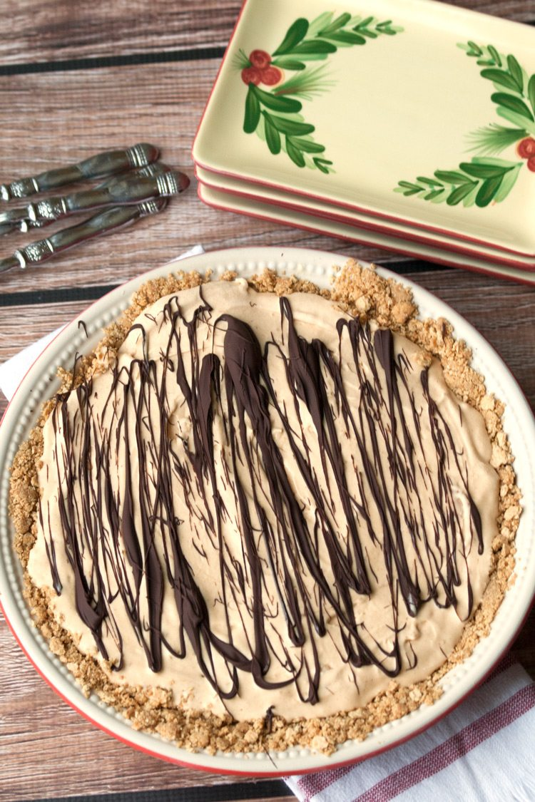 Peanut Butter Ice Cream Pie