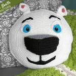 Meet Norm of the North and Free Crochet Pattern