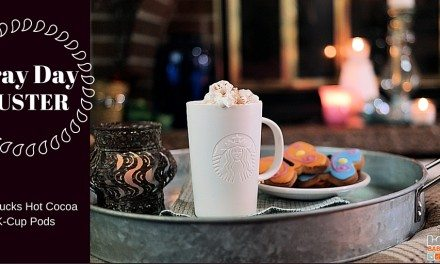 Gray Day Buster: Starbucks Hot Cocoa K-Cup Pods